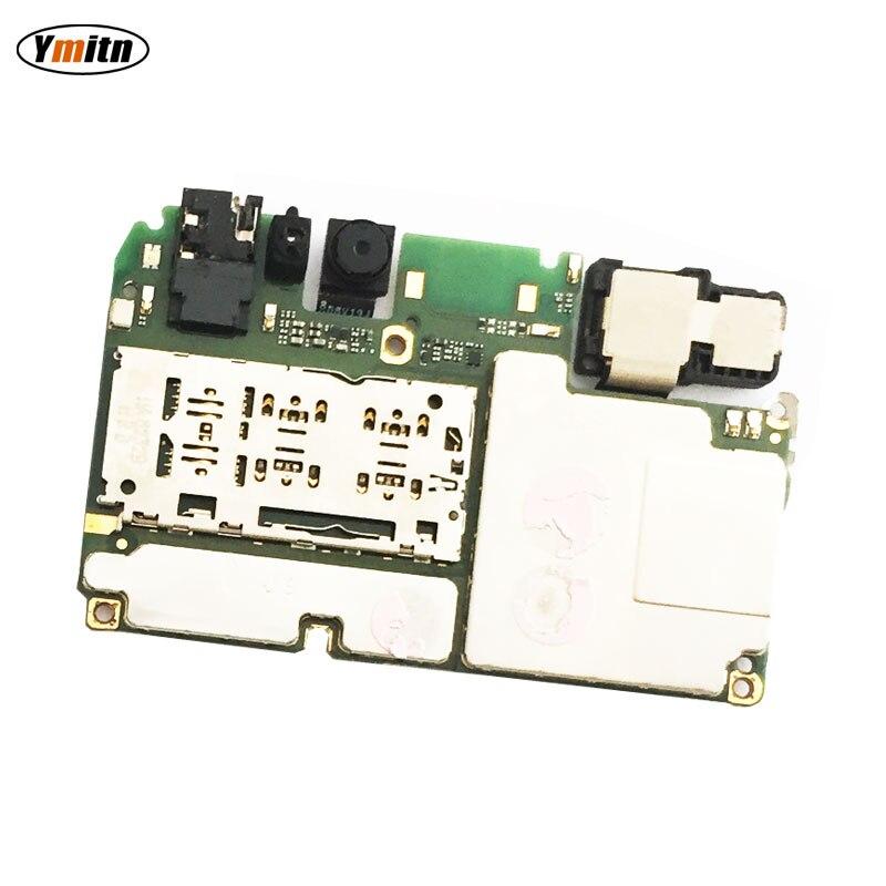 Carte mère de carte mère de panneau électronique Mobile Ymitn déverrouillée avec des Circuits de puces câble flexible pour Huawei Honor 7A AUM-AL00 AL20
