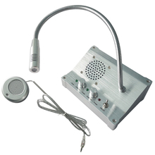 цена на Box Office Loud Speaker Mic Window Intercom Two Way Radio Wireless Call For Bank Service Center