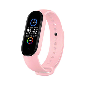 2020 M5 Smart Bracelet Men Fitness Smart Wristbands Women Sports Trackers Smartwatch Play Music Bracelet M5 Band For Android IOS