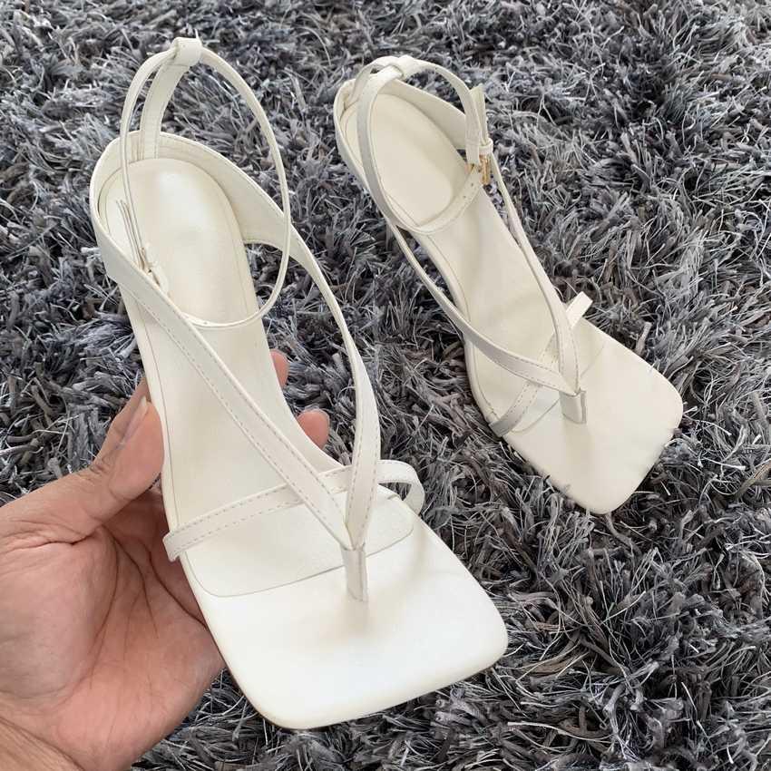 2020 yaz kadın pompaları seksi gladyatör yüksek topuklu sandalet ayakkabıları kadın ince yüksek topuklu burnu açık sandalet bayan ayak bileği kayışı pompa ayakkabı