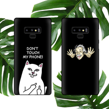 Rip N Dip Cat Soft Phone Case For Samsung Galaxy S10 S9 S8 Plus S10e Note 8 9 Cover Matte Silicone Cute Cat Coque Fundas Capa mct6 dip 8 page 9