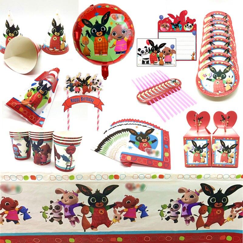 Кролика тематическая вечеринка на день рождения с блестками; Большие размеры украшения Скатерть для бумажного стаканчика салфетка тарелка...