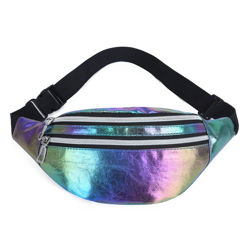 Female Belt Waist Bag Bum Bag Fanny Pack Women's Waist Bags Heuptas Waist Pack Hologram Bag Reflective Sac Banane Femme Pouch