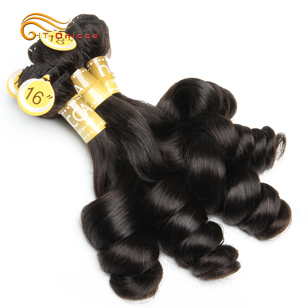 Pissy/Flexi/Egg Curl Pixie Curls Human Hair Brazilian Hair Weave Bundles Spring Bouncy Curly Hair Extension 5Pcs/Lot Total 200g