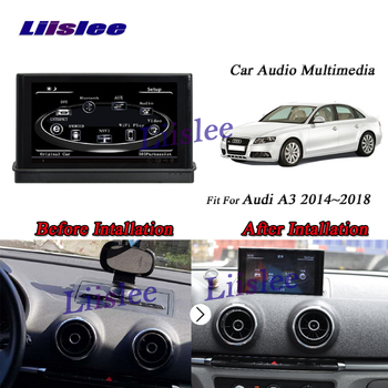 Liislee Car Android GPS Navi Navigation System For Audi A3 / MQB / 8V 2014~2018 Radio Audio Video Multimedia No CD DVD Player image