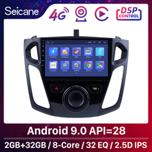 Seicane 9 Pollici Android 9.0 Lettore Multimediale Autoradio Per Il 2011 2012 2013 2015 Ford Focus Stereo Supporto Bluetooth WIFI USB OBD2