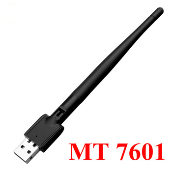 Hot Freesat MT-7601 USB WiFi Adapter Wireless Antenna LAN Adapter Network Card For TV Set Top Box USB Wi-fi Adpater 1