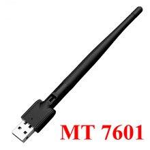 حار Freesat MT 7601 USB واي فاي محول هوائي لاسلكي LAN محول بطاقة الشبكة للتلفزيون قمة مجموعة صندوق USB واي فاي Adpater