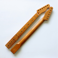 New model F Electric Guitar Neck  Natural nitrocellulose varnish 22Fret Guitar accessories parts