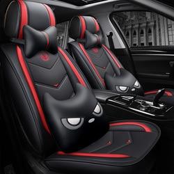 Pełne pokrycie eko-skórzane pokrowce na siedzenia samochodowe siedzenie samochodowe ze skóry PU pokrowce na Toyota HYBRID PLUG-IN CAMRY PLUG-IN HYBRID