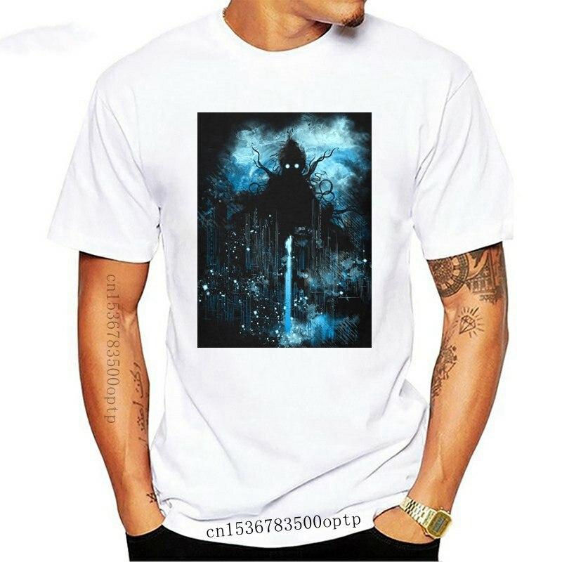 Classic Lovecraft Tee Shirt Cthulhu Attrack London ! Night Tshirt Cool Fashion Mens Short Sleeve 3D T-Shirts Male Tops Oversized