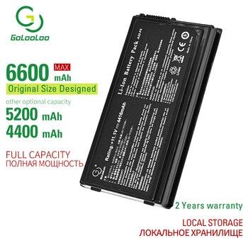 цена на Golooloo 11.1V 5200mAh A32-F5 New laptop battery for Asus F5C F5M F5R F5SL X50RL X50SL X50V X50VL 90-NLF1B2000Y a32-f5 6 cells