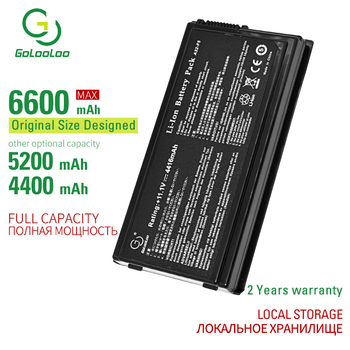 Golooloo 5200mAh 6CELL A32-F5 New laptop battery for Asus F5C F5M F5R F5SL X50RL X50SL X50V X50VL 90-NLF1B2000Y a32-f5 6 cells