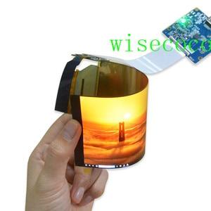 6 pulgadas 1920*1080 pantalla flexible plegable pantalla OLED Placa de controlador HDMI MIPI pantalla enrollable amoled 450 alta luminosidad