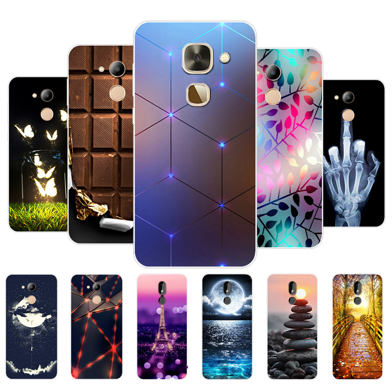 For LeEco Le 2 X527 Case Cover Soft TPU Silicone Cover Cat Dog Animal Cartoon Phone Capa For Letv LeEco Le S3 X522 X622 X626