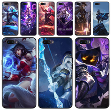Baweite League Of Legends Lol Pahlawan Lembut Hitam Ponsel Case untuk OPPO F5 F9 F3 F11 Pro A92020 K1 A77 reno A52020(China)