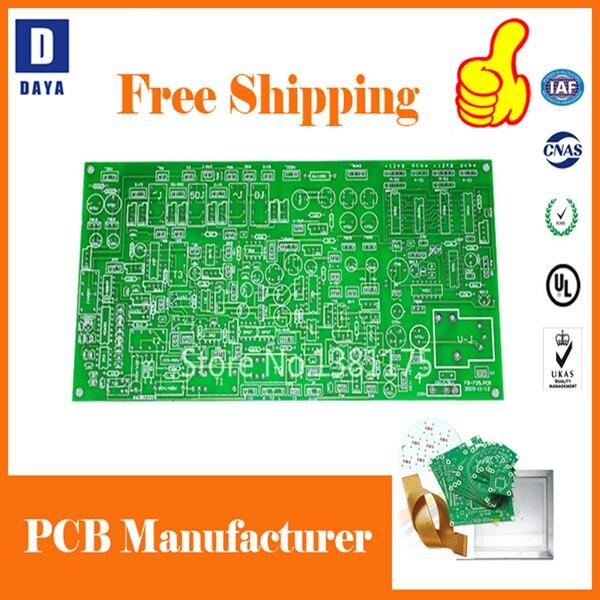 DDAYA livraison gratuite tour rapide à faible coût PCB Prototype fabricant, FR4 aluminium Flexible PCB, pochoir de pâte à souder, 005