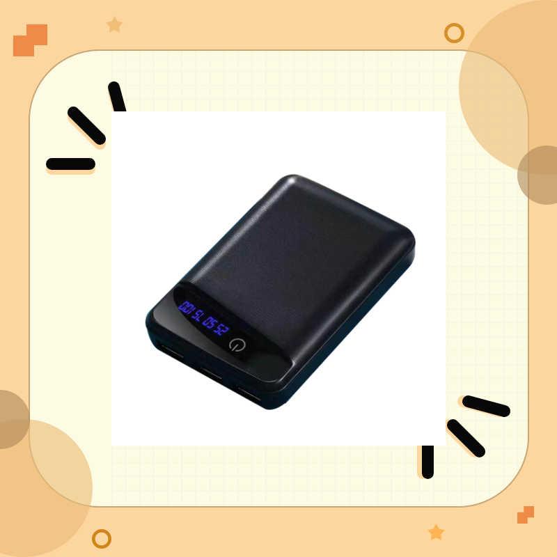 3 adet 18650 pil şarj cihazı kapağı taşınabilir güç kaynağı kılıfı DIY kutusu 3 USB bağlantı noktaları