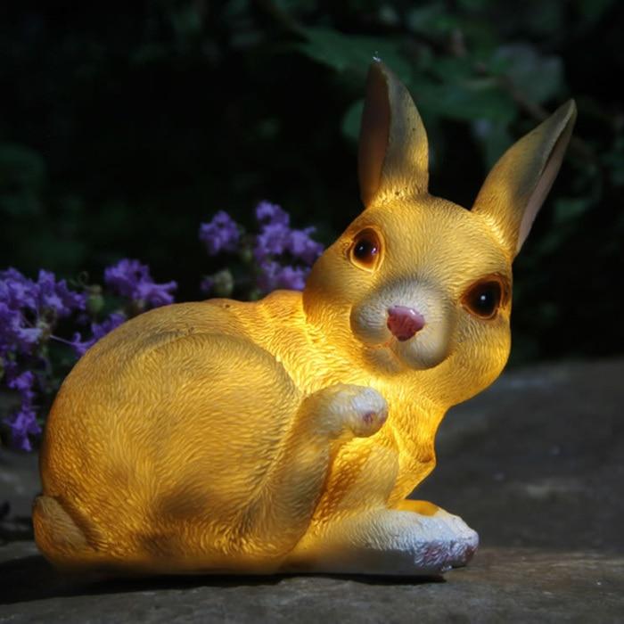 impermeável animais bonitos lâmpada casa jardim caminho decoração l5 #4