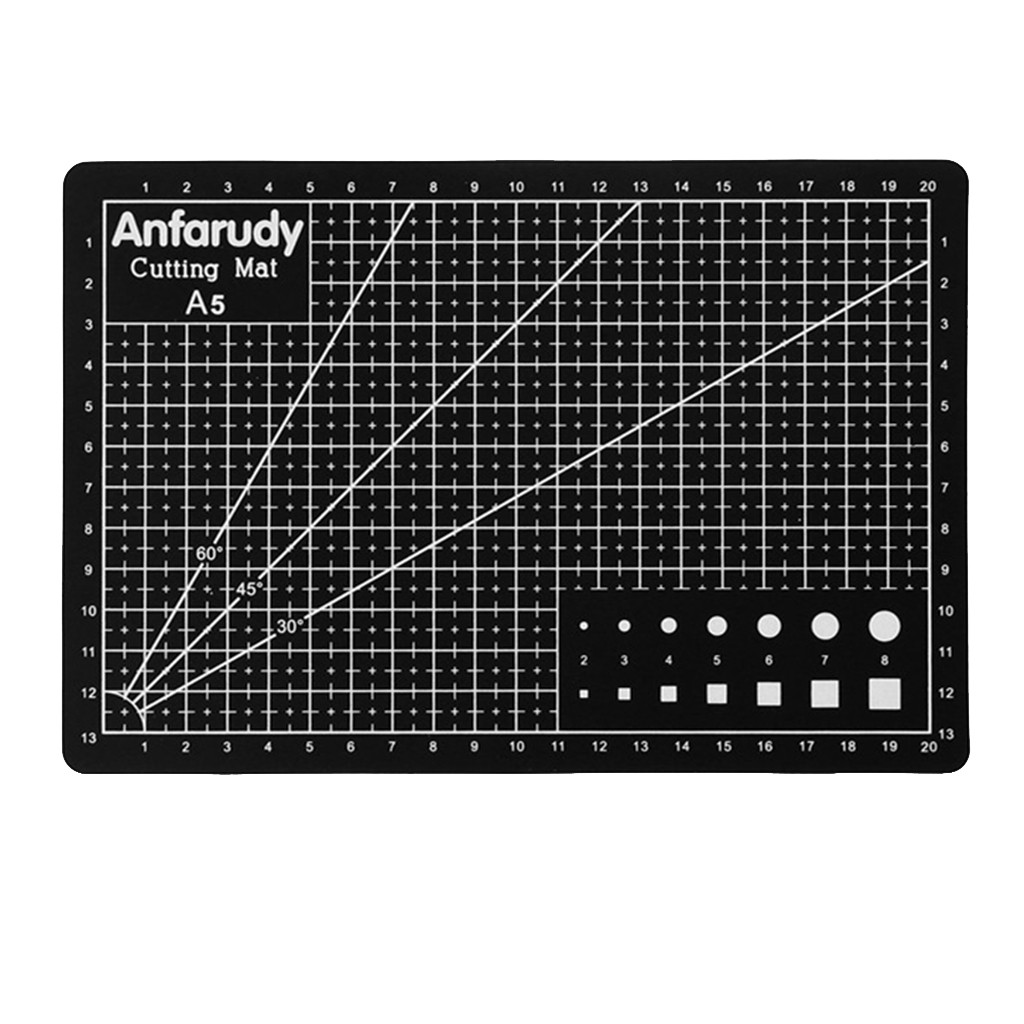 Stationery Accessories A5 Art Self Healing Pvc Cutting Mat Double Sided Gridded Rotary For Craft Fabric Estojo Escolar Пенал #4