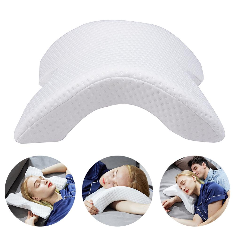 Memory Foam Bedding Sofa Pillow Anti-pressure Hand Pillow Neck Protection Slow Rebound Multifunction Pillows Silk Couple Sofas