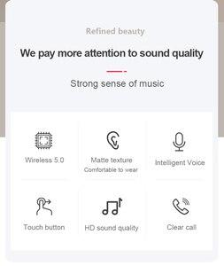 Air3 Tws Drahtlose Kopfhörer Mit Text Air 3 Druck Sensor Bluetooth Headset Ohrhörer PK I9000 I90000 I300000 I200000 PRO TWS