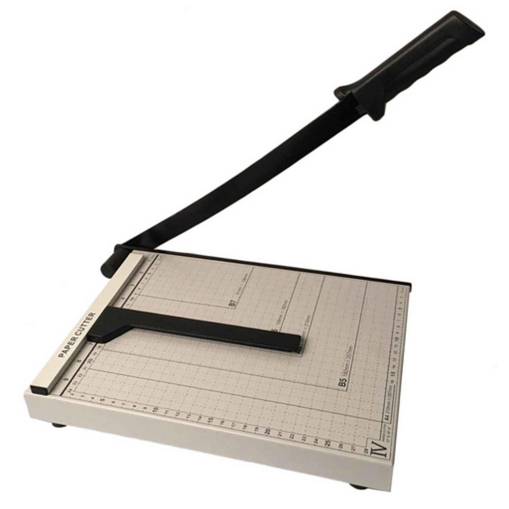 12inch Metal Office DIY Paper Cutter Base Trimmer Scrap Booking Desktop Sheet A4 Guillotine Cutting Board Patchwork