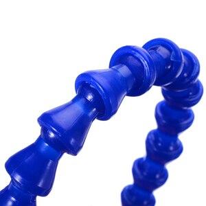 6 шт. Новый светильник трубы для охлаждающей жидкости 300 мм 1/4 круглая насадка водяное охлаждение гибкие шланги для охлаждающей жидкости с пластиковым корпусом Mayitr
