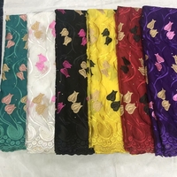 High quality New Swiss Voile Lace African Lace Fabric Cotton material Embroidery White Color For Women cloth