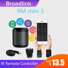 Broadlink RM Mini3 uniwersalny inteligentny WiFi/IR/4G bezprzewodowego IR pilot zdalnego sterowania kurtyny poprzez IOS Android automatyki inteligentnego domu