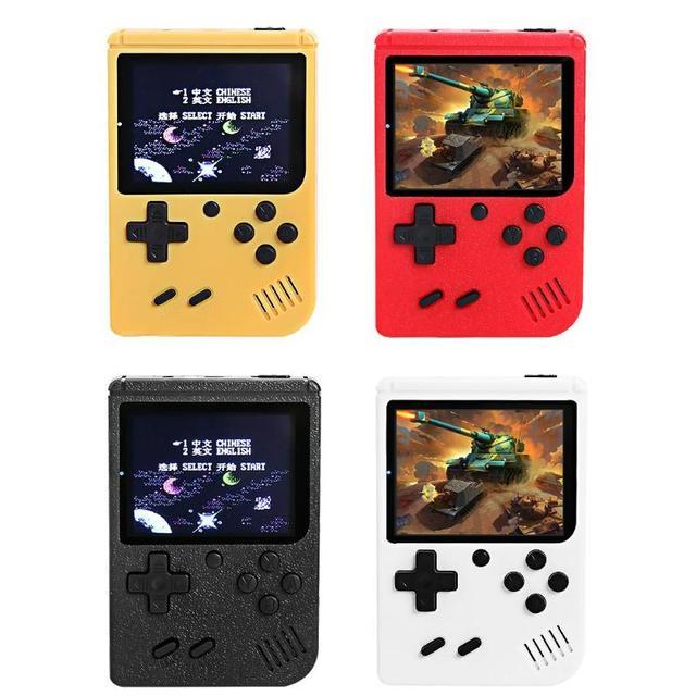 RS 50 Video oyunu konsolu dahili 500 oyunları elde kullanılır oyun konsolu Retro Tetris nostaljik oyun oyuncu çocuk için en iyi hediye