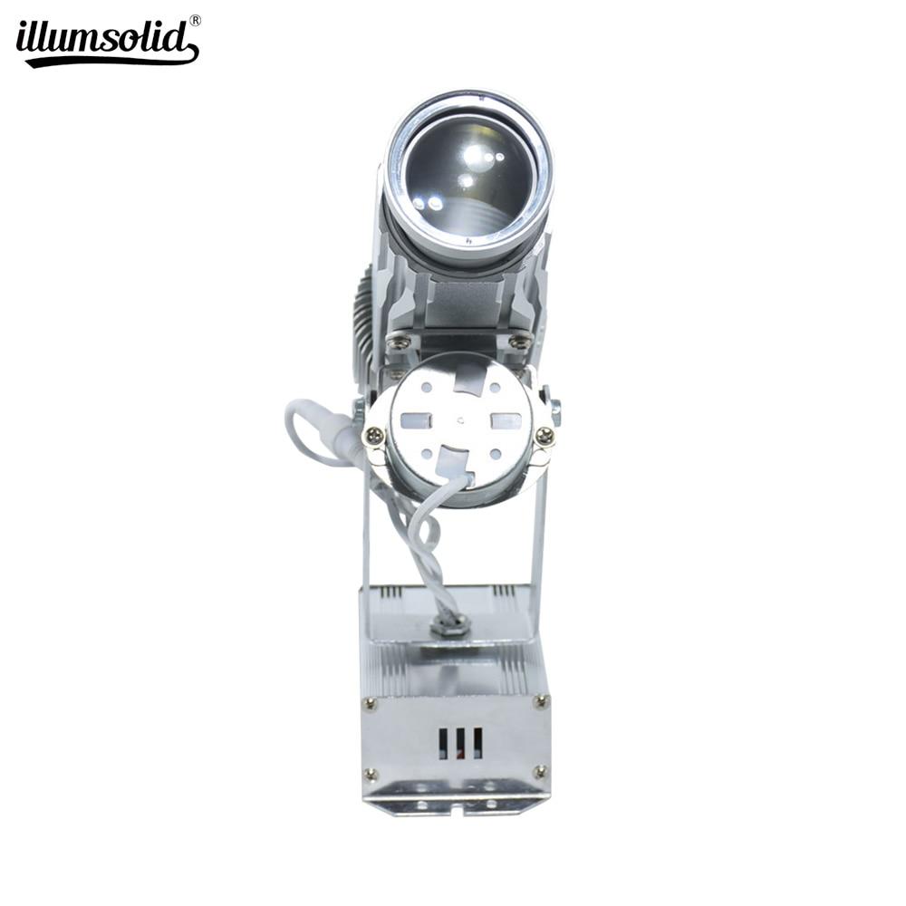 Mini projecteur de gobo de lumière de publicité d'affichage de logo a mené 25w pour le magasin de barre de Club