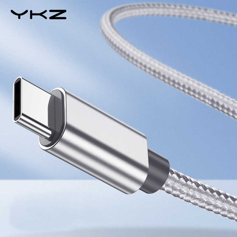 Type C USB Cable YKZ USB-C Fast Charging Cable for Samsung S10 Type-C Mobile Phone Charge Data Wire for Xiaomi Huawei Oneplus