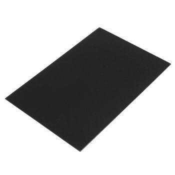 цены Guitar Bass Pickguard Sheet Scratch Plate Blank Material 1 Ply Black 43 x 29 cm