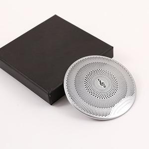 Für Mercedes Benz GLC X253 E Klasse W213 C Klasse W205 Auto Zubehör Auto Stahl Audio Lautsprecher Tür Lautsprecher Trim 4 stücke