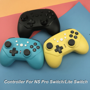 Wireless Bluetooth Controller For NS Pro Switch/Lite Switch Gamepad Joystick supports TURBO six-axis gyroscope(China)
