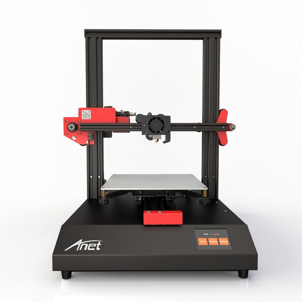 2.8' Printer Anet ET4 3D High Precision Printer Touchscreen Resume Power Failure Printing Filament Run Out Detection CNC Router