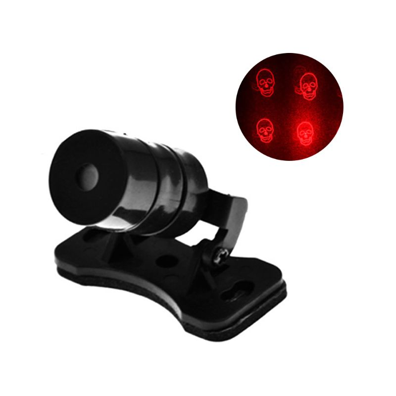 Neue Muster Anti Kollision Hinten-ende Auto Laser Schwanz Nebel Licht Auto Brems Parkplatz Lampe Aufzucht Warnung Licht