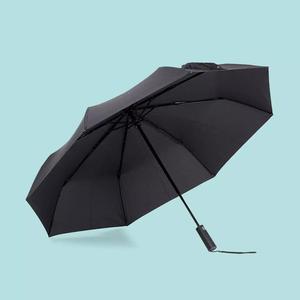 Image 2 - Xiaomi Mijia Automatic Folding Umbrella and Aluminum Parasol Windproof Man Woman Waterproof UV for Winter Summer Umbrella Mi