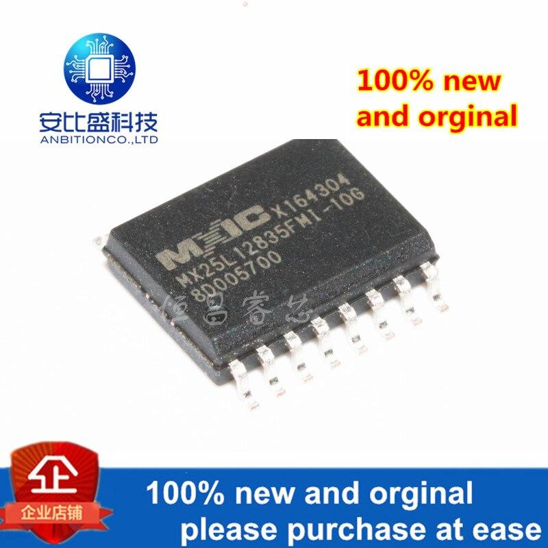 2pcs 100% New And Orginal MX25L12835FMI-10G Silk-screen 25L12835FMI-10G 128Mbit In Stock