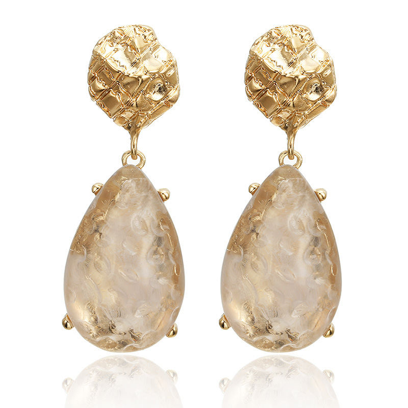 CARTER LISA 2019 New Vintage Crystal Earrings For Women Acrylic Earrings Dangling Female Earrings Party Gift Jewelry Wholesale