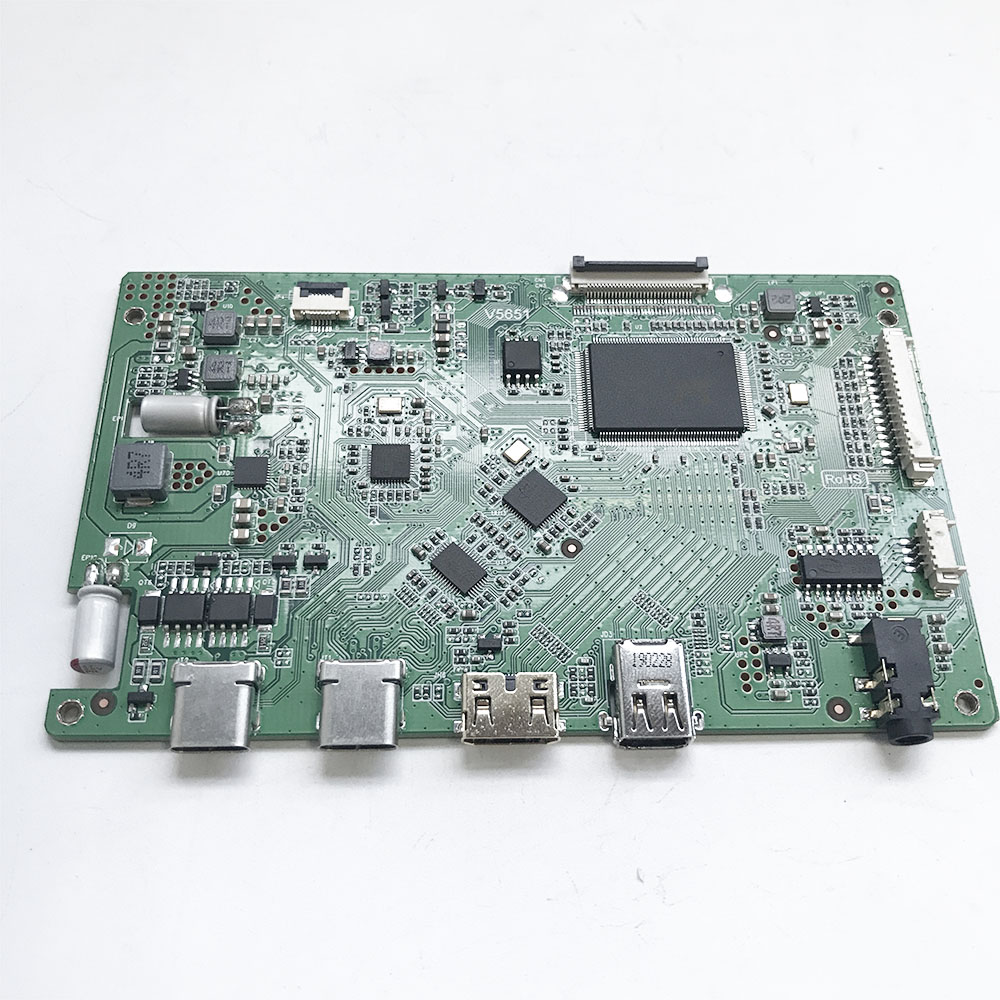 Portable Display Controller Board Support HDMI/Type C/Mini DP With 1920*1080@60Hz ,support Touch EDP Lcd Pane