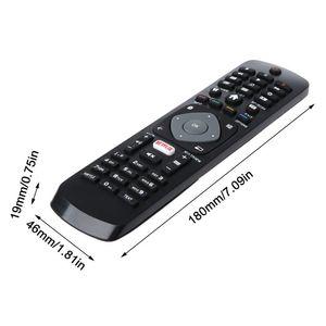 Image 4 - Remplacement de télécommande noir noir pour Philips NETFLIX Smart TV 398GR08BEPHN0012HT 1635008714 43PUS6162