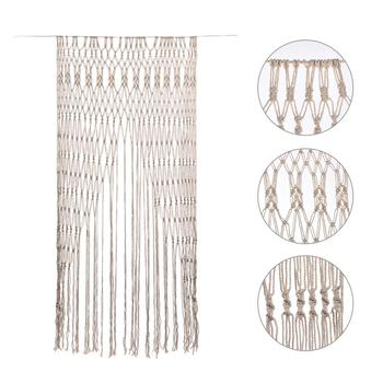 1.5X2M Hand-woven Tapestry Cotton Yarn Knitted Door Curtain Luxury Wedding Party Backdrop Decoration Background Door Curtain