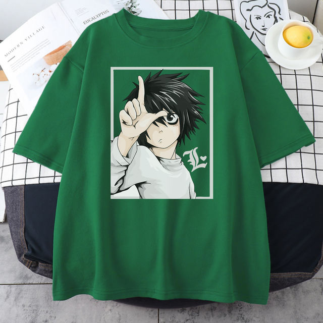DEATH NOTE THEMED T-SHIRT (11 VARIAN)