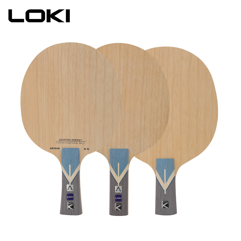 LOKI Arthur K5 ALC Table Tennis Blade 7 Ply Offensive Carbon Ping Pong Paddle Fast Attack And Arc Table Tennis Racket