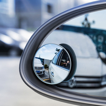 Universal Car Blind spot mirror Rear View Mirror Wide Angle Lens For Parking Auxiliary Car Mirror Car Accessories Safe Driving fold car silver bonnet rear mirror exterior hoods covers blind wide angle rear side mirror rear glass for all cars universal