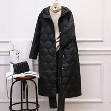 Down Women Jacket Slim Woman Hooded Slim Fit Long Coat Casual Women Jacket buff women slim fit crocus