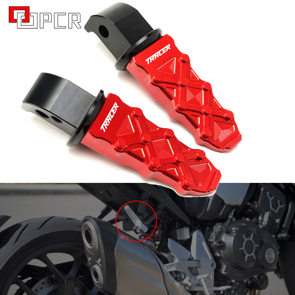 For Yamaha Tracer 900 700 Gt 900gt Tracer Mt09 Mt07 Motorcycle Latest High Quality Rear Foot Pegs Rests Passenger Footrests Special Price 80432e Cicig