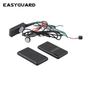 EASYGUARD иммобилайзер рчид Противоугонный беспроводной иммобилайзер для автомобиля, система безопасности с автоматическим замком двигателя/...